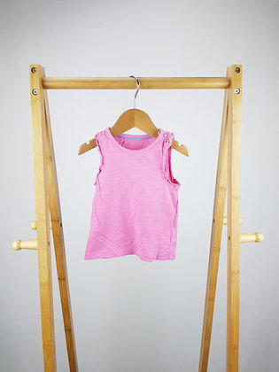 Mothercare pink top 9-12 months