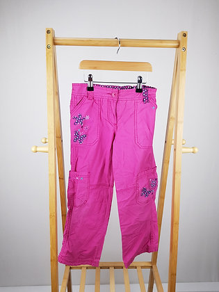 Cherokee pink trousers 7-8 years