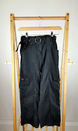 Cherokee black trousers with belt 10-11 years