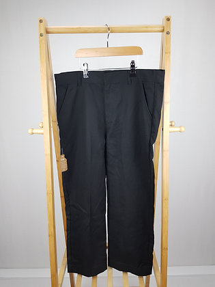F&F black formal trousers 14-15 years