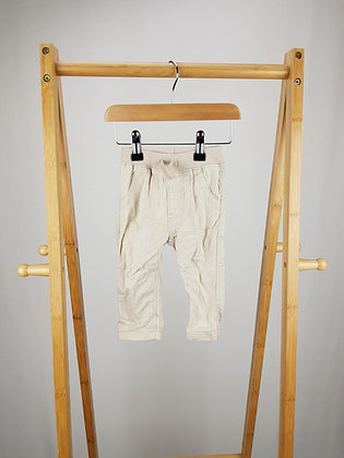 George beige trousers 3-6 months