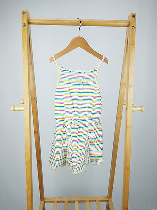 George striped playsuit 4-5 years