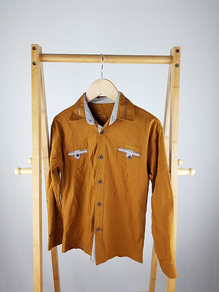 Roballi brown formal shirt 8-9 years