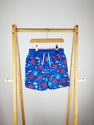 George under the sea shorts 5-6 years