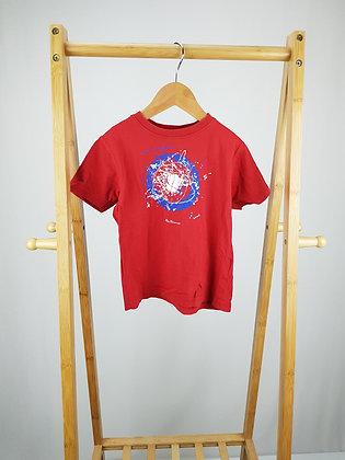 Ben Sherman red t-shirt 4-5 years