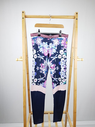 Lola Maverick floral active wear leggings 12-13 years