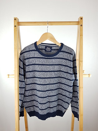 Rebel striped knitted sweater 11-12 years