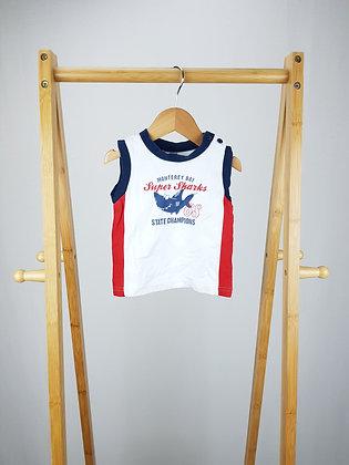 M&Co vest top 9-12 months