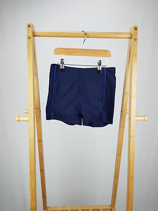 George navy swimming trunks 9-10 years