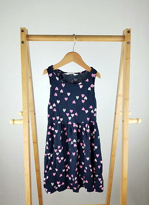 H&M heart patterned dress 6-8 years
