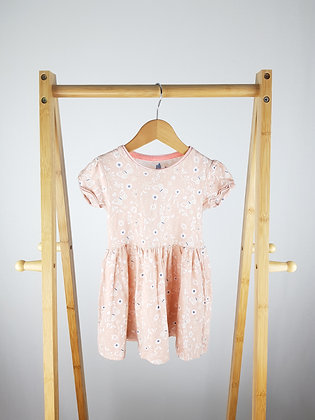 F&F pink butterfly dress 18-24 months