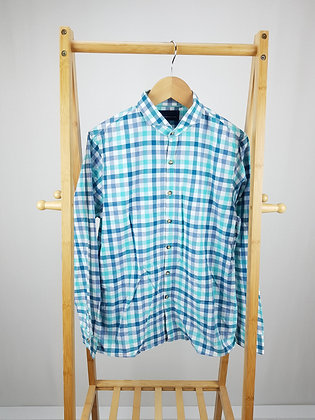 Next blue checked shirt 13 years