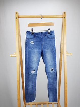 H&M distressed jeggings 7-8 years