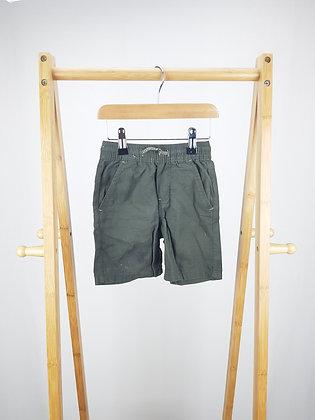 Denim Co khaki shorts 18-24 months