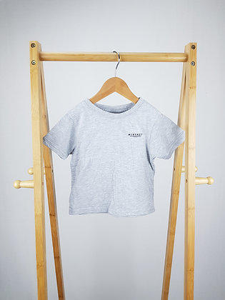 Mckenzie grey t-shirt 3-4 years (small fit)