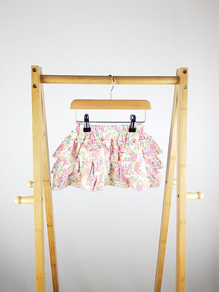 George tiered floral skirt 18-24 months