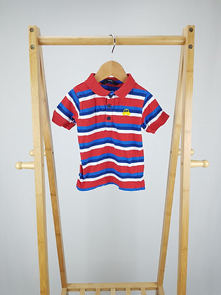 George striped polo shirt 18-24 months