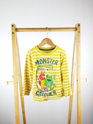 F&F monster catcher long sleeve top 3-4 years