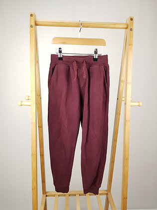 George burgundy joggers 7-8 years