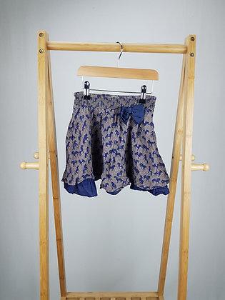 Monsoon horse print skirt 5-6 years