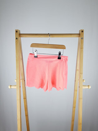 George neon pink shorts 6-7 years