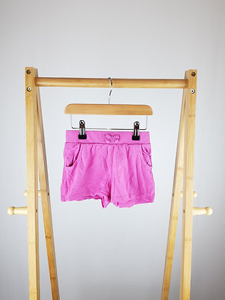 George pink shorts 4-5 years