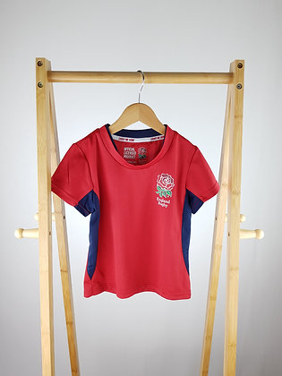 England Rugby t-shirt 5-6 years