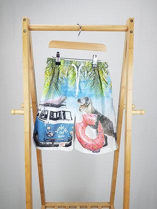 Matalan T-rex holiday shorts 10-11 years