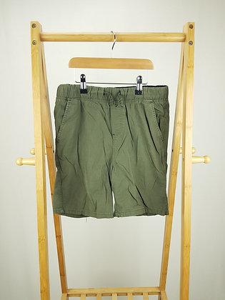 Denim Co khaki shorts 11-12 years