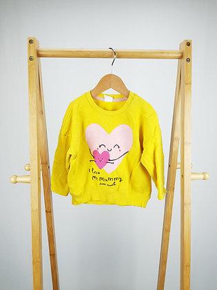H&M love mummy sweater 12-18 months