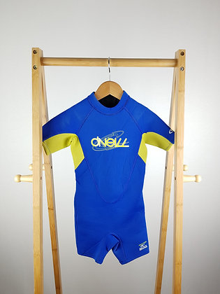 O'neill blue wetsuit 3 years