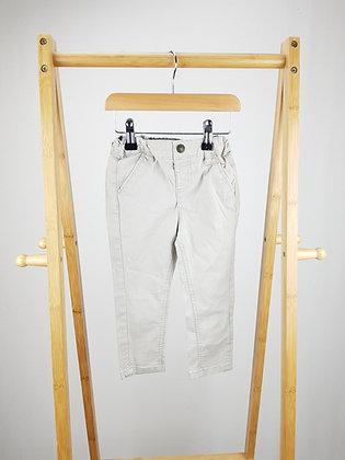 Denim Co beige trousers 18-24 months