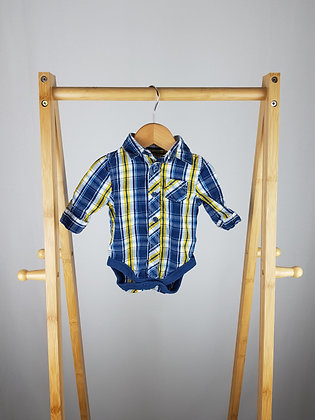 Mothercare shirt bodysuit up to 1 month