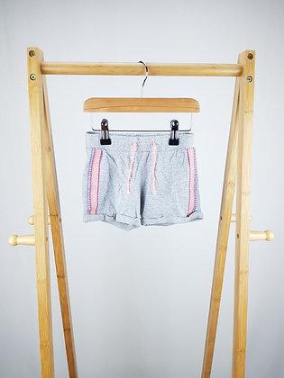 F&F grey shorts 2-3 years