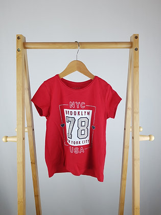 Primark red t-shirt 4-5 years