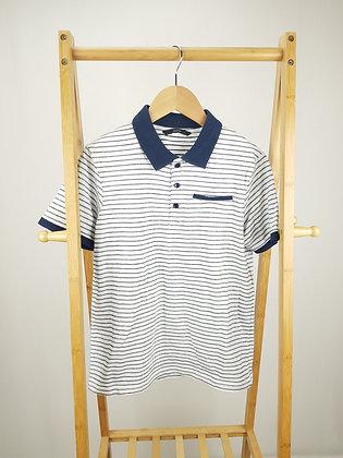 George striped polo shirt 11-12 years