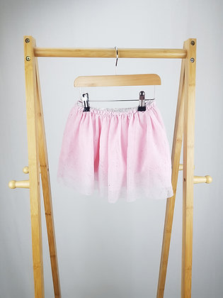 George pink sparkly tulle skirt 18-24 months