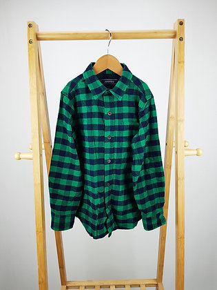 Lands'end checked shirt 6-7 years