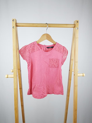 George pink t-shirt 6-7 years