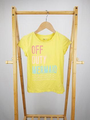 GAP off duty mermaid t-shirt 8-9 years