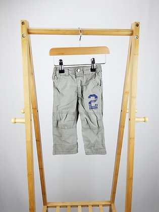 George beige trousers 6-9 months