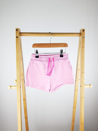 George pink shorts 6-7 years