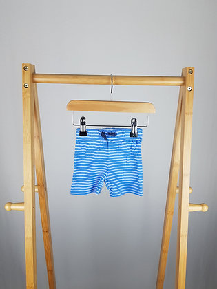 George striped shorts 0-3 months