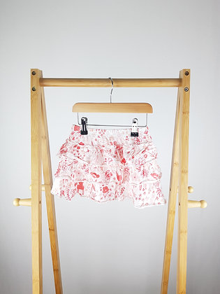 George floral bunny tiered skirt 3-4 years