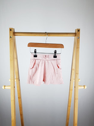 George pink shorts 12-18 months