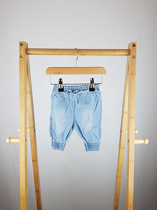Next denim trousers up to 1 month