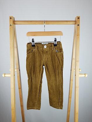 Burgs corduroy trousers 2-3 years