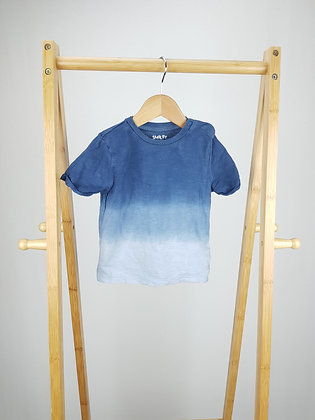 F&F ombre t-shirt 18-24 months