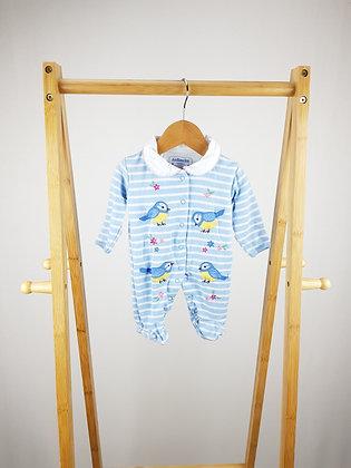 Jojo Maman Bebe embroidered babygrow newborn
