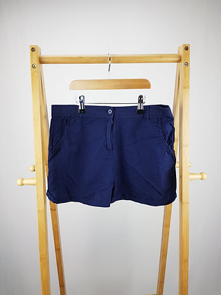 George navy shorts 13-14 years